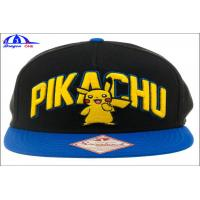 China 5 Panel Custom Baseball Caps / Fitted Baseball Caps With Crystal Logo wholesale