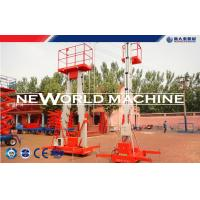 China 4 - 24m 200kg Aluminum Aerial Work Platform Safety / Aerial Lift wholesale
