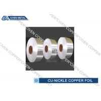 Copper Nickel Alloy Foils For Sea Water System Components Resistant for sale