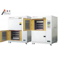 China Plastic Horizontal Thermal Shock Test Chamber Water Cooled Test Cabinet on sale