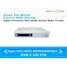 China Телевизионная приставка ДВБ к цифров х 264 получает тариф символа бода ХД сигнала 9М РФ wholesale