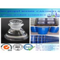 China Isopropyl Acetate Chemical Solvents Dehydrating Agent CAS 108-21-4 C5H10O2 wholesale