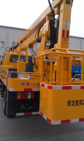 Quality 8440x3370x2200(mm) Boom Lift Truck with auto leveling system XZJ5083JGK for sale