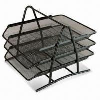 China File Holder, Measures 35 x 30 x 25cm, Available in Black or Silver wholesale