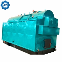 China 1 - 5 Ton Output Wood Steam Boiler For Garment Industry , Textile Factory wholesale