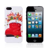 China Christmas Shoes Pattern Women Phone Case Hard Back Cover For Iphone 6 on sale