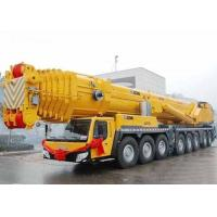 China 67 Meter Boom Lifting Height Truck Mounted Hydraulic Crane 110 Ton , SGS wholesale