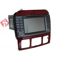 China Double Din Mercedes In Car Dvd Players , In Dash Gps Car Stereo With Navigation wholesale