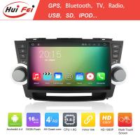 China 10.1 Inch Full Touch Screen China Car Gps For Highlander 2012-2014 Quad-core RK3188 on sale