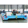 China 頑丈な柵のきっかり電気移動のカート12トン容量4mx1.8mのテーブル wholesale