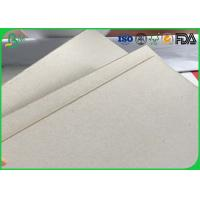 China Uncoated Double Sided Corrugated Medium Paper Grey Chipboard Paper For Package Box wholesale