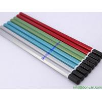 China Wooden Hexagon Pencils Color Pencil With Dip Head, metallic color wooden pencil wholesale
