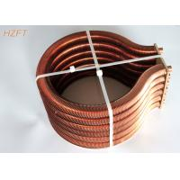 China Extruded Copper / Cupronickel Finned Tube Coils for Water Heater Boiler wholesale