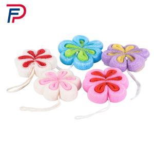 Buy cheap Professional Colorful Puff Bath Sponge Mesh Shower Ball,Mesh Flower Body Wash Sponge,PP BATH SPONGE from wholesalers
