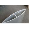China Venetian Blinds Type Aluminum Sun Shades Panel With Polyester Powder Coating wholesale