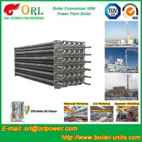 China Water Heater Boiler Stack Economizer Boiler System , Boiler Economiser on sale