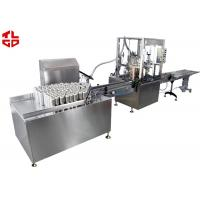 Buy cheap CE Automatic Aerosol Filling Machine Lubricant Carburetor Cleaning Agent Spray from wholesalers