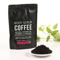 China Coconut / Coffee Natural Body Scrub Brightening Stretch Mark For Adult wholesale