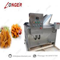 Buy cheap Automatic Chicken Continuous Frying Machine Industrial Fried Chicken Frying from wholesalers