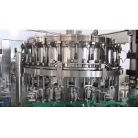 China Soda Water / Carbonated Soft Drink Production Line Stainless Steel 380V 50Hz wholesale