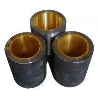 China CHB-JF800 Oilless Bimetallic Self-Lubricating bronze Bearing with oil groove wholesale