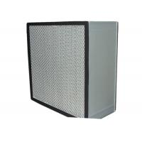 China Commercial Clean Room HEPA Air Filter Media , Stainless Steel Frame wholesale