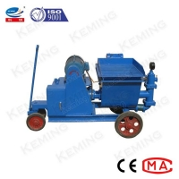 China 50L/Min Piston Cement Injection Mortar Grout Pump 4Mpa wholesale