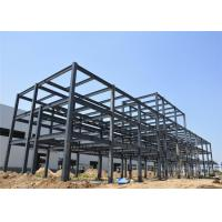 China Q235 Q345B Light Steel Structure Building With Metal Sheet Wall Long Life Span wholesale