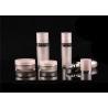China Wholesale Cosmetics Pump Acrylic Lotion Bottle Cosmetic Packaging Acrylic Cosmetic Jar And Plastic Lotion Bottle wholesale