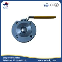 China ANSI-150 Stainless steel clamp type ball valve with ISO5211 mounting pad wholesale