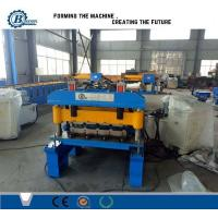 China 820 Model Metal Steel IBR Roof Panel Roll Forming Machine / Roof Sheet Making Machine wholesale