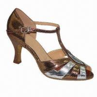 China Dance Shoes for Women, Latin Style, Made of PU wholesale