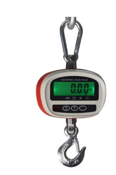 Quality Classic Plastic Hanging Digital Crane Scales Portable and High Accuracy Capacity 30Kg - 300kg LCD display for sale