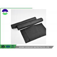 China UV Resistance Black Geosynthetic Fabric Low Deformation For Highway Reinforcement on sale
