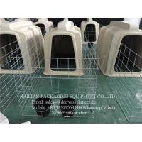 Buy cheap Plastic Calf Hutch With Stainless Steel Fence And Cow Cubicles For Dairy Farm from wholesalers