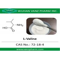 China 99 HPLC amino acid cas 72-18-4 l-valine Natural Health Supplements wholesale