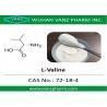 99 HPLC amino acid cas 72-18-4 l-valine Natural Health Supplements for sale