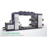 China High Speed 4 Colour Flexographic Printing Machine For Paper Printer / Label Printer wholesale