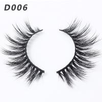 China Handmade 3D Mink Lashes 100% 3D Real Mink Fur Strip Lashes New Style wholesale