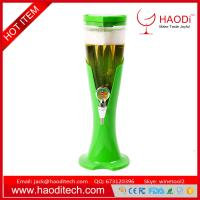 China Tabletop Beer Tower Dispenser Colorful Glowing Beer Tower 5 Color Options wholesale