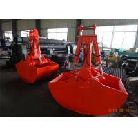 Non Rotate Clamshell Excavator Grapple Bucket For Daewoo DH280 Long Reach Excavator
