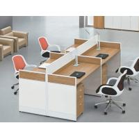 China modern 4 persons office partition table in warehouse in Foshan wholesale