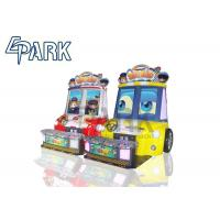 China Supermarket Kids Racing Game Machine Coin Operated Baby Swat 3 Car wholesale