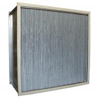 China 350 Degree High Temp Air Filter For Oven Equipment Stainless Steel Frame wholesale