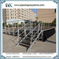 high bearing aluminum stage with adjustable legs for fashion show concert