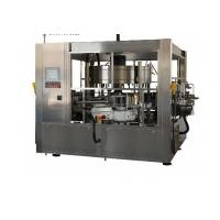Buy cheap 380V Cold Glue Glass Bottle Labeling Machine For Beverage / Chemical from wholesalers