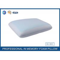 Classic Memory Foam Cooling Gel Pillow with Light Blue Cool Pillow Case
