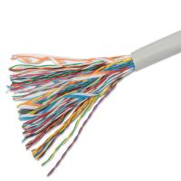 China Telecommunication Cables 50pairs Copper Cat3 Multipair UTP Cable Projects Ethernet Cabling on sale