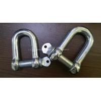 China Marine bow type shackle D type shackle Welding rectangular base marine eye plates wholesale
