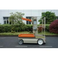 Buy cheap 5 M Self Propelled Elevating Work Platforms Stock Picker Alumium Aerial Order from wholesalers